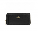 COACH 52648 ACCORDION ZIP WALLET IN LEATHER - LEATHER