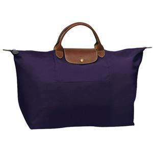 082e0b89e9d 1624089 Le Pliage L Size Short Handle (Travel Bag) - Bilberry