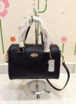 COACH 33329 CROSSGRAIN LEATHER MINI BENNETT SATCHEL - BLACK