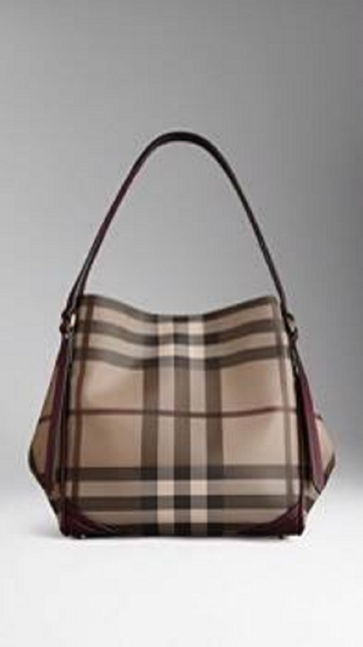 b73cc3b1db3 Burberry B09 Smoked Check Shoulder Bag - Brown - Classic Luxury Handbags