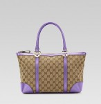 G01 Gucci Lovely Heart Shape bag - Khakis Purple